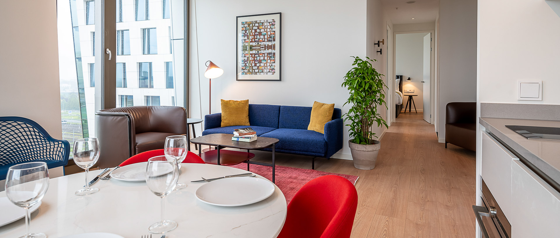 PREMIER SUITES PLUS Amsterdam Two Bed Apt